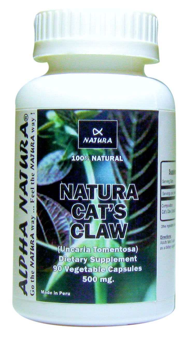CAT´S CLAW (Helps support the Immune System, Anti-Inflammatory, Antioxidant)