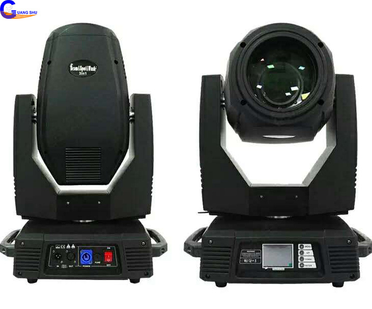 Professional 17R 350W Beam Spot Wash Moving Head Stage Light