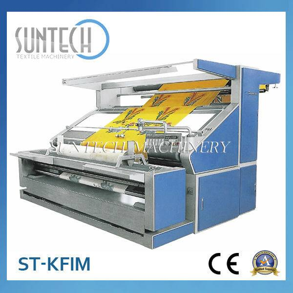 Open Width Knitted Fabric Inspection Machine