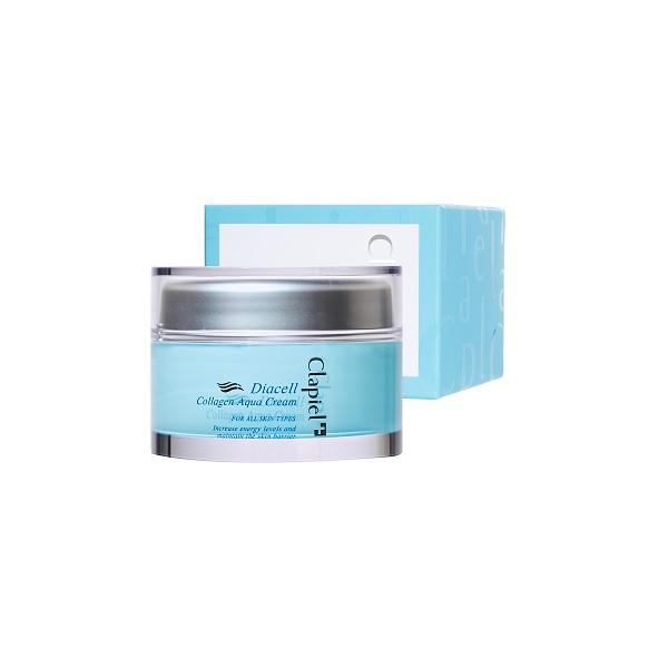 aqua cream, moisturizing cream, collagen cream, Clapiel