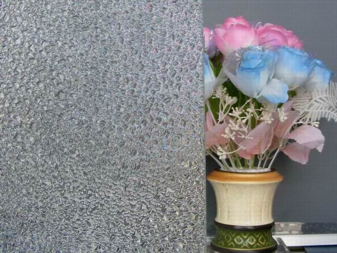 3-6mm Rolled /Textured /Figured /Patterned Glass with Bamboo, Flora, Mistlite etc. Pattern