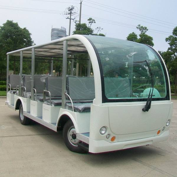middle size 23 seat electric sightseeing resort bus