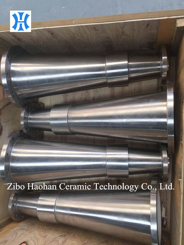 Alumina Ceramic Lined Stainless Steel Cone for VALMET High Consistency Pulp Cleaner