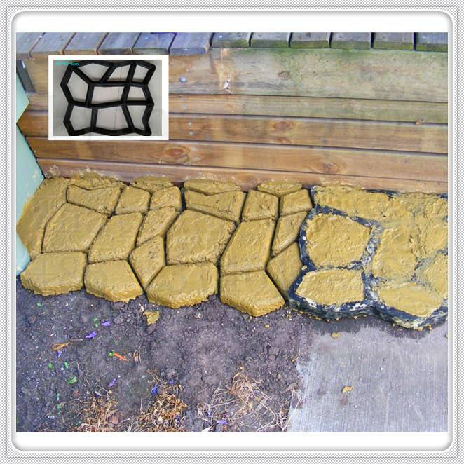 2016 Hot Sale GARDEN SUPPLY- Plastic Concrete pavement block Mould