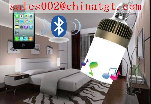 led bulb with bluetooth speaker new in 2014