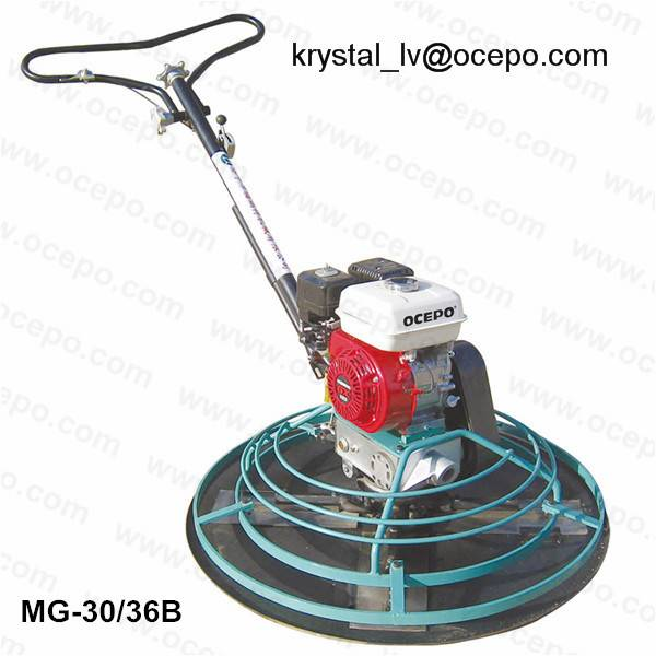 Power Trowel concrete trowelling machine