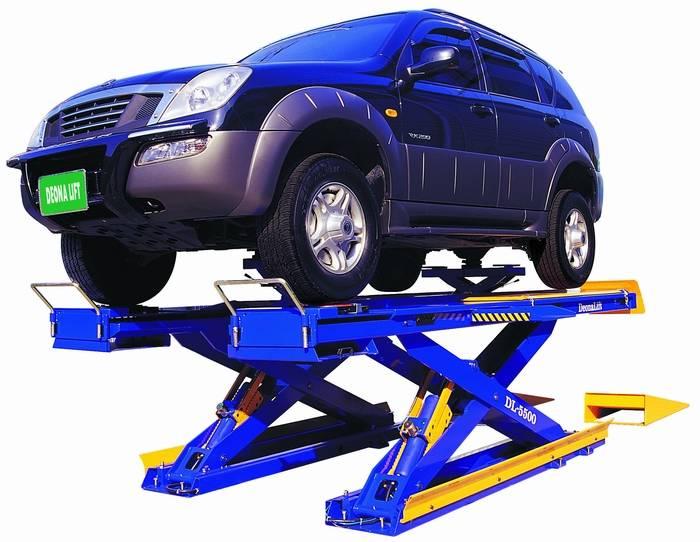 Car Lift : SCISSORS LIFT FOR ALIGNMENT (DL-5500)
