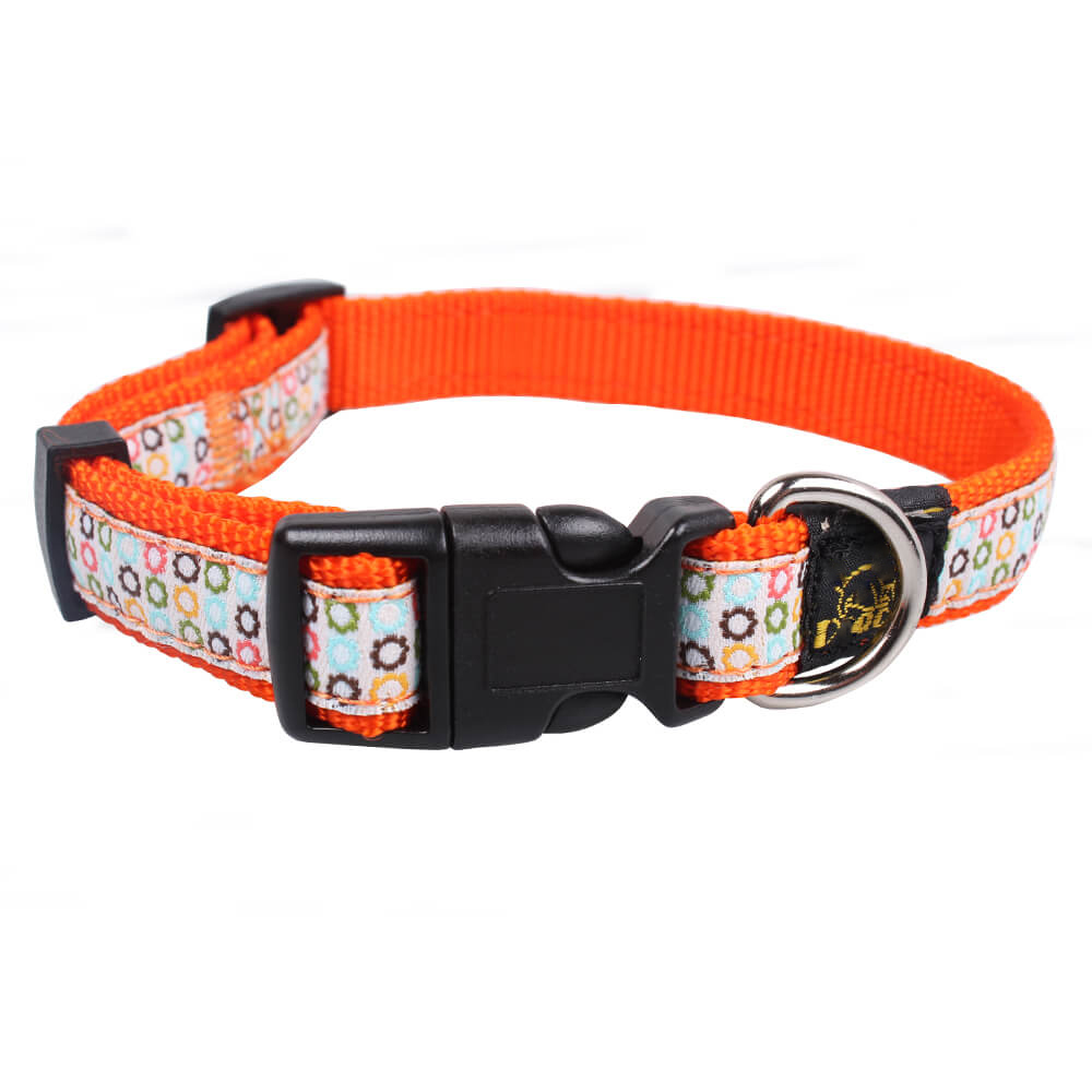 Customized Dog Collars: Promotion Nylon DIY dog collars supplies