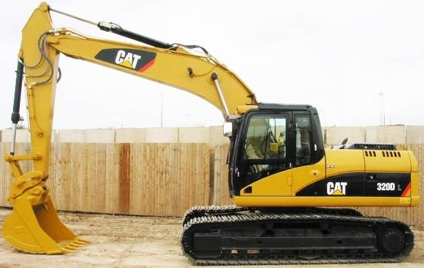 new unused CAT excavator 320D i170319 EIJH he40121