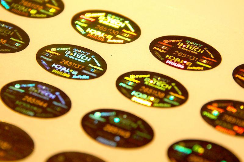 Laser Numbering Sticker