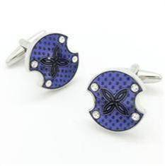 enemel cufflinks