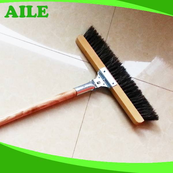 Long Handle Horse Hair Wall Cleaning Brush