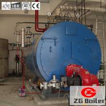 packaged fire tube gas hot water boiler