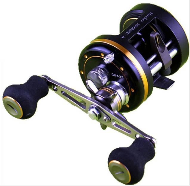Round Baitcasting Fishing Reel