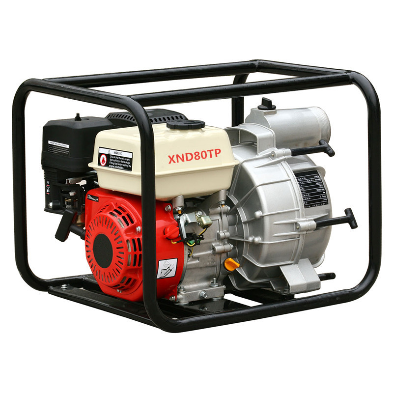 SJ80TP 3 inch gasoline Trash pump with high quality