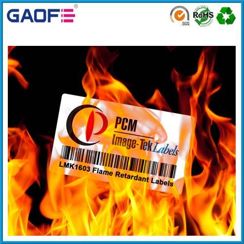 Removable Vinly Sticker Labels, Electronic Barcode Label Paper, Preprinted Adhesive Label Stickers