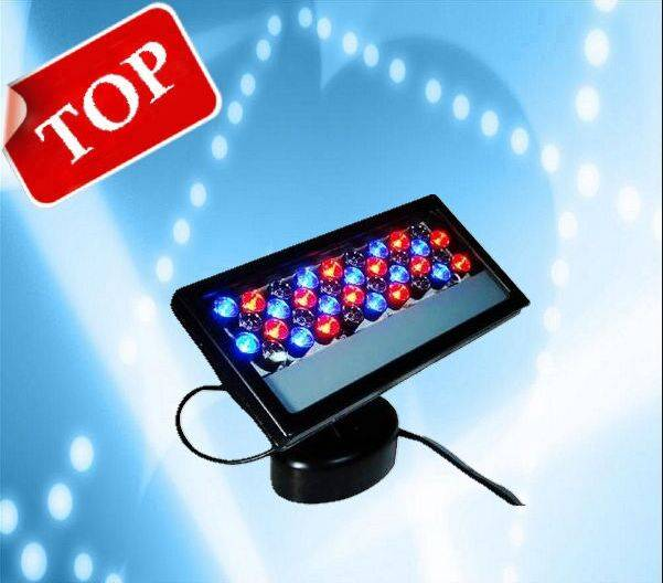 Hot Selling Most Popular 36pcs 1W RGB Outdoor LED Wall Washer Stage Light 10%off Free Shipping