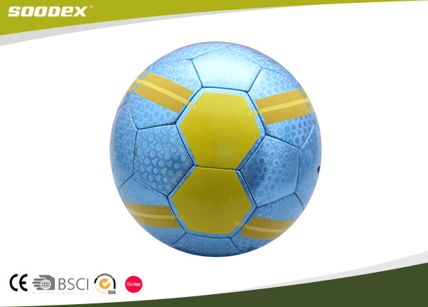 Metal PVC Soccer Ball In Official Size 5
