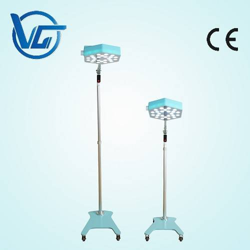 Standed LED shadowless examination lamps for pet clinic