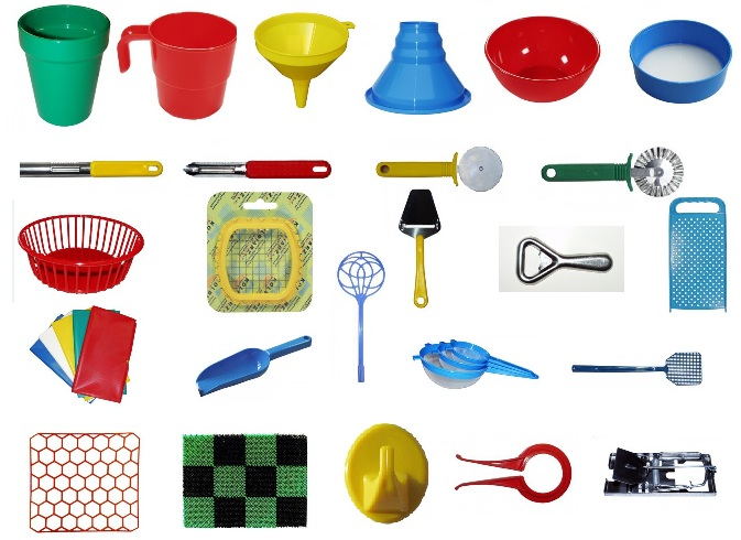 Kitchen and household assortments