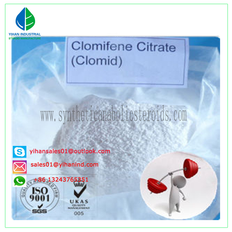 High Quality Anti-Estrogen Steroid Clomid / Clomiphene Citrate for Muscle Building Judy