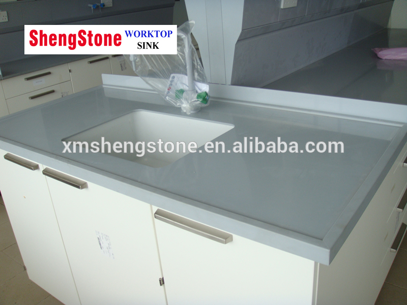 Anti corrosion laboratory furniture with epoxy resin worktop