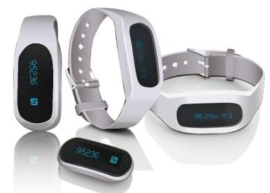 Fashionable Bluetooth smart wristband, perfect partner for iPhone & Android phone and very convenien