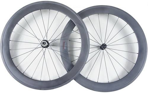 road bicycle full carbon wheel clincher 60mm 700c