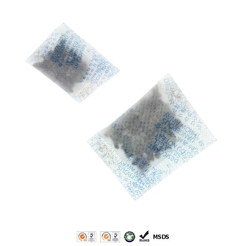 moisture absrobent montmorillonite desiccant packet