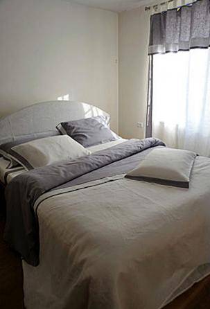 linen Bedding Set with Duvet Covers. Designed and manufactured in Italy