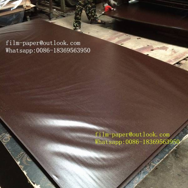 Black&brown phenolic film paper for plywood making