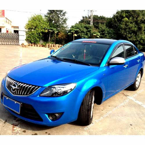 Blue matt chrome Car wrap film