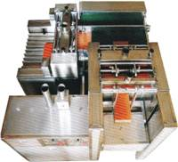 Fully automatic two-way V-cut machine