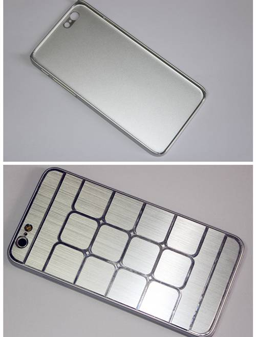 Fashionable stylish metal plus PC mobile phone cover