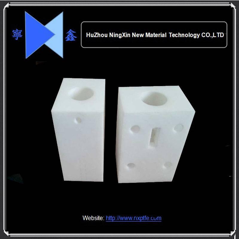 ptfe plastic block parts