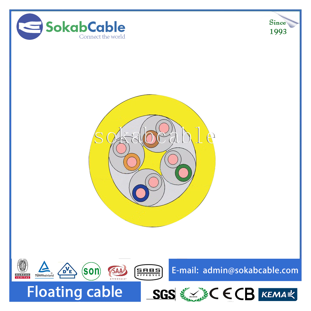 24AWG 4pairs UTP underwater rov cable Cat5e Network LAN Cable
