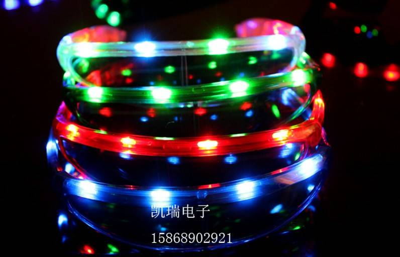 christmas toy LED glasses SPACE carnival festival holiday supplies party decoration luminous christm