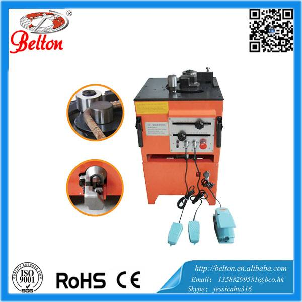 Automatic rebar bender and cutter stirrup bending and cutting machine BE-RBC-25