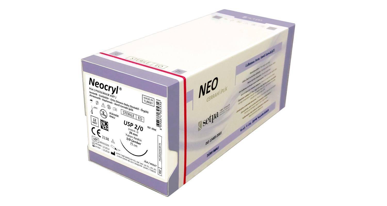NEOCRYL 100% Polyglycolic Acid (PGA) Suture