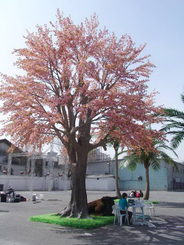 top sale most realistic artificial cherry blossom tree high quality fake cherry blossom tree for dec