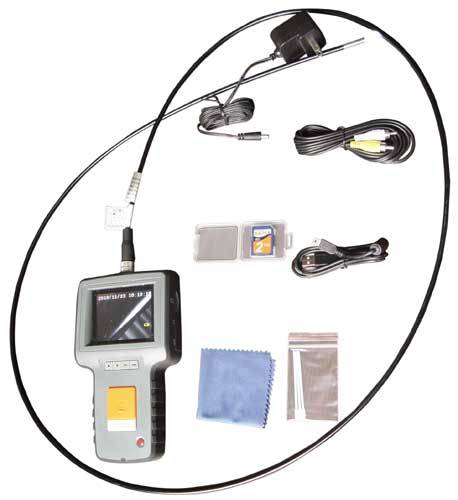 Cost effective Aircraft manufacturing test portable industrial video borescope
