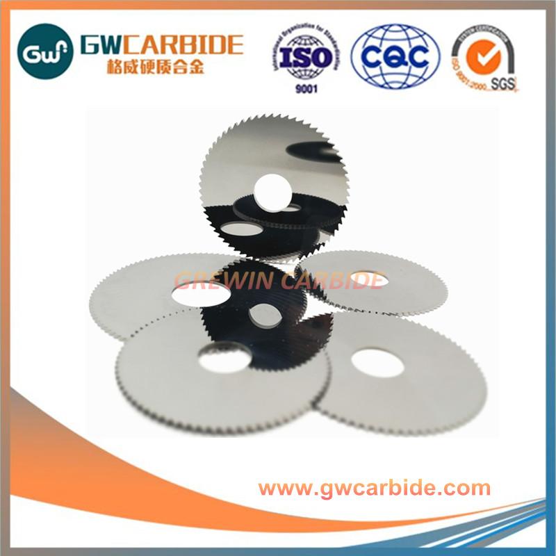 Carbide circular saw blade for woodworking cutting
