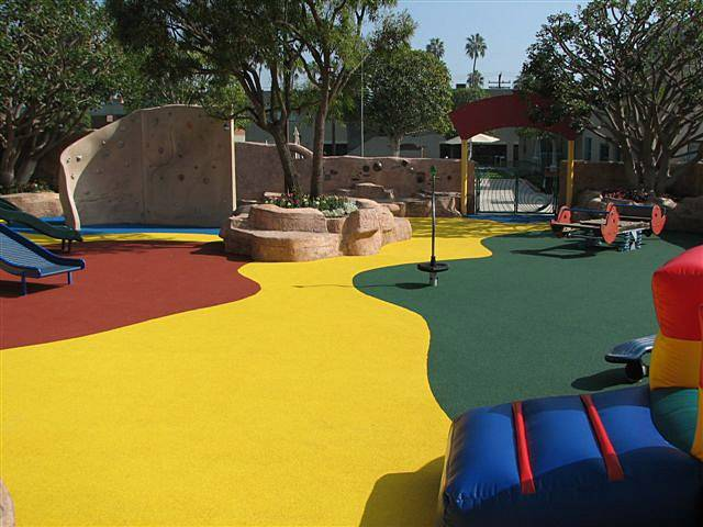 epdm rubber Safety Surfacing Design