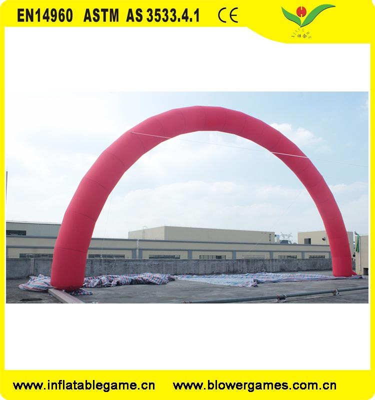 Cheap classic promotion arc shape giant 18M inflatable arch