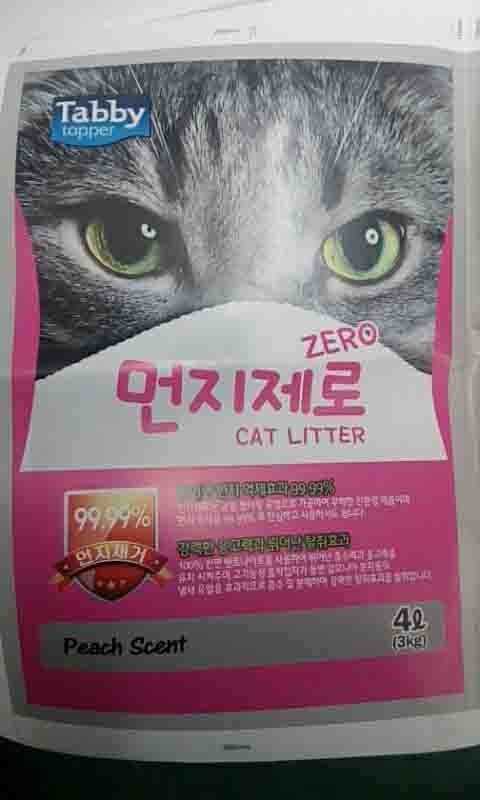4L Peach Scent Cat Litter