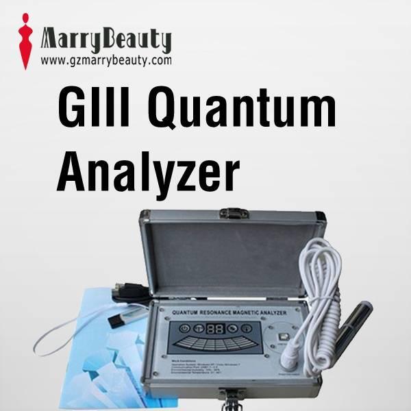New 2013 Health Analyzer 38 English Reports Quantum Magnetic Resonance Analyzer