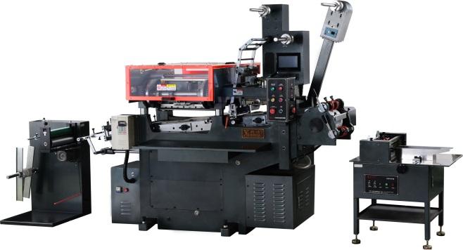 Industrial sticker label printing machine (CNC)