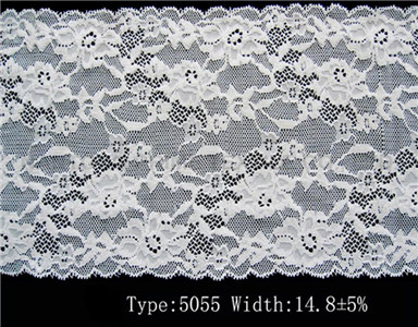 narrow fabric organic cotton lace Embroidery lace stretch lace for sale