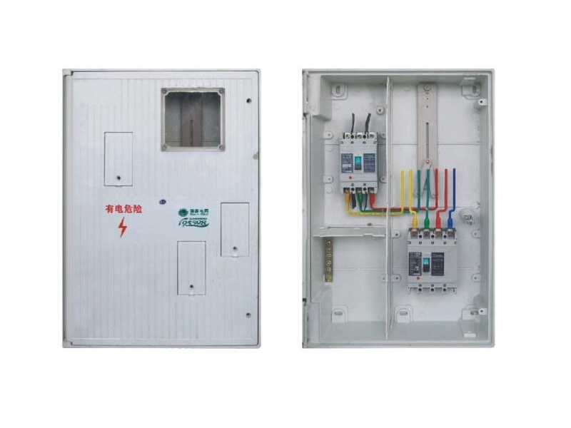 450 x 660 x 140mm smc one phase power meter box for network