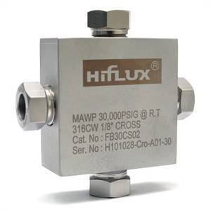 HIFLUX - High Pressure Fitting Cross Type